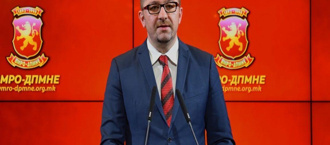 Мицкоски: ВМРО-ДПМНЕ ќе поднесе амандмани на законот за јазиците според препораките на Венецијанската комисија