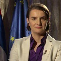 Српската премиерка му одговори на албанскиот претседател: Без провокации и дипломатски пристојно