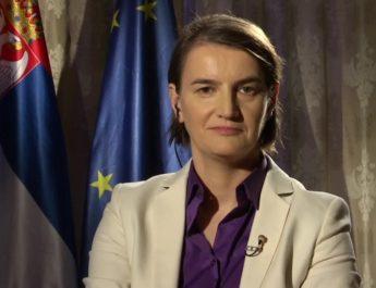 Српската премиерка во посета на Брисел