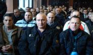 По минутата молк за загинатите, обвинетите продолжија со пцовки и навреди кон судиите