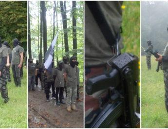 """Словенија на нозе – вооружената паравоена формација """"Штаерска гарда"""" патролира по границата (ВИДЕО)"""