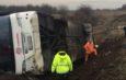 Македонски автобус се преврте во Србија – 26 повредени